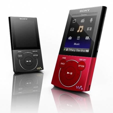 Sony walkman drag and drop